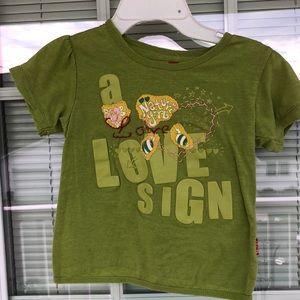 Shilav Girls 4Y Green Nature Tee-Shirt